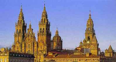 Compostela is built on a beautiful legend, photo MTP